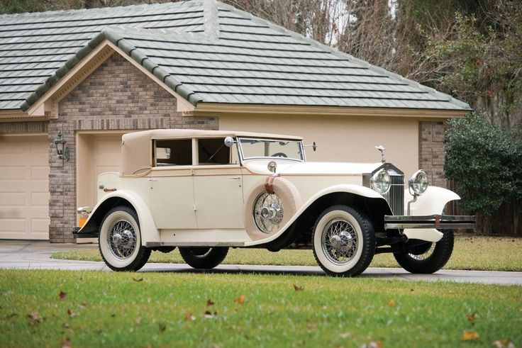 1927 Rolls-Royce Phantom I Convertible Sedan by Brewster Chassis S359FM