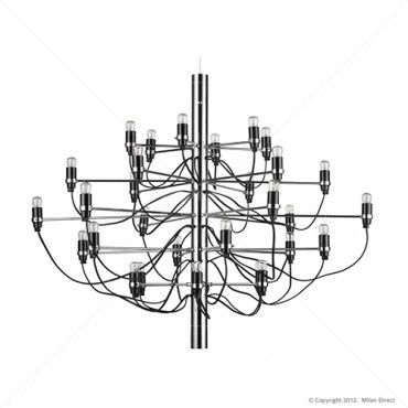 Sarfatti 30 Bulb Chandelier - Gino Sarfatti Reproduction - Milan Direct