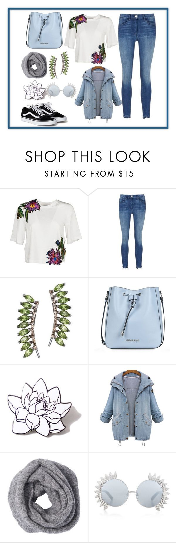 """I'M BLUE"" by emgone on Polyvore featuring 3.1 Phillip Lim, Sidney Chung, Armani Jeans, PINTRILL and Linda Farrow"