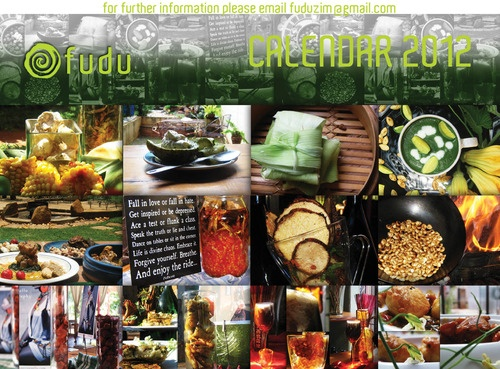Calendar on ZImbabwean food. The blog has a lot of really interesting zimbabwean contemporary ideas around food and culture