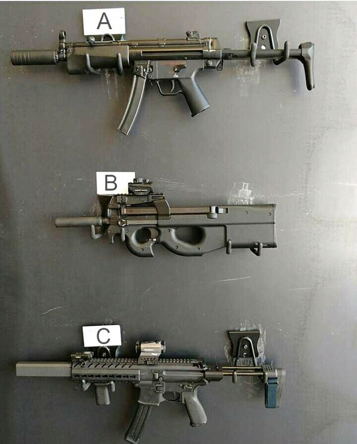Which submachine gun do you like of those 3?