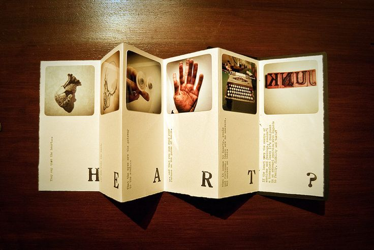 A small booklet called All Heart - maybe not as sweet as you might think.