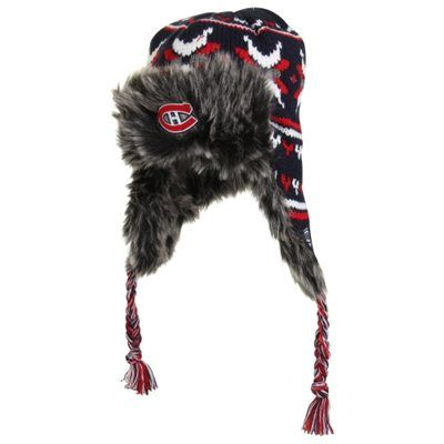 Old Time Hockey Montreal Canadiens Tyrell Knit Hat - Navy Blue