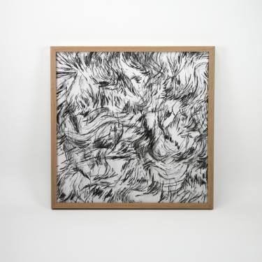 "Saatchi Art Artist Dennis Happé; Drawing, ""Whisper #1"" #art"
