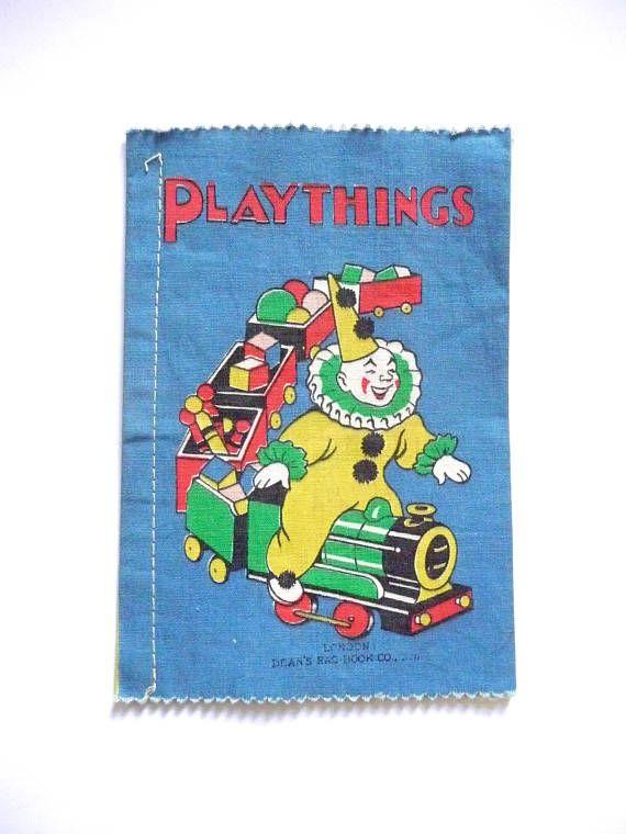 Vintage Playthings Dean's Rag Book No. 365