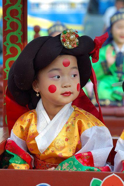 South korean girl all dressed up