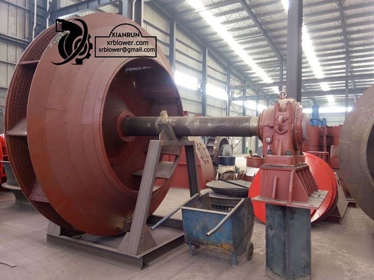 Large Centrifugal Fans for 5000t/d Cement Production Line by Xianrun Blower, check www.lxrfan.com, xrblower@gmail.com