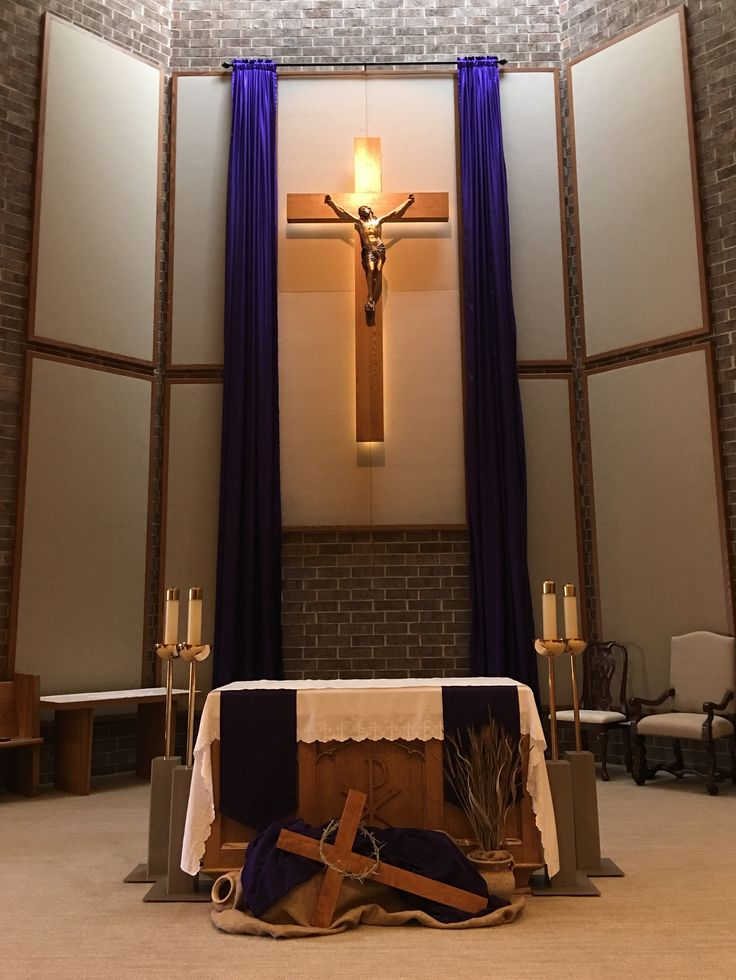 17 best images about church altar arrangements on for Lent decorations for home