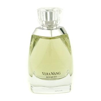 Vera Wang Bouquet Eau De Parfum Spray - A fresh green floral fragrance for women Refreshing, romantic, feminine yet natural Opens with notes of dew drops, Sicilian bergamot & black currant leaf Heart notes of white narcissus & honeysuckle Base notes of lavender accords, musk, Moroccan cedarwood & white iris root Suitable for day or evening wear