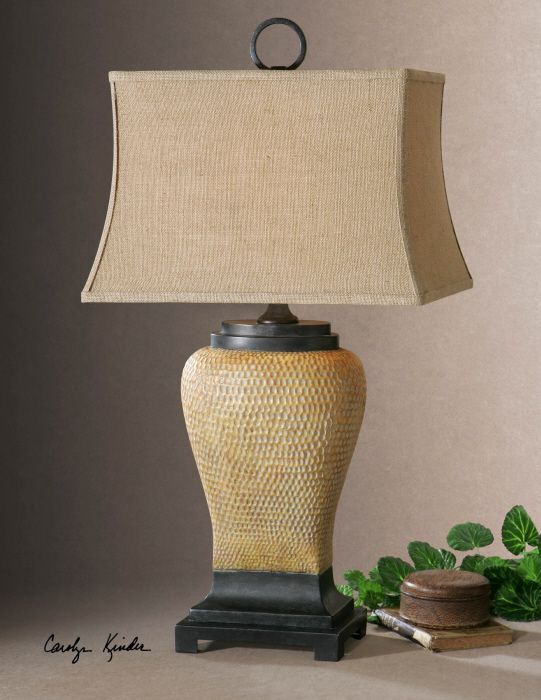 Uttermost melitta ceramic metal high table lamp overstock shopping great deals on uttermost table lamps