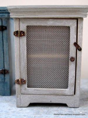 atelierhannashave: Flue skabe til køkken og café