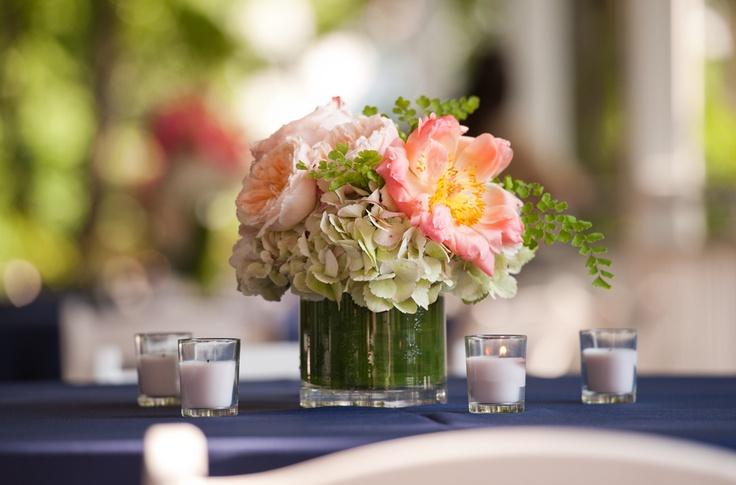 pastel wedding centerpieces