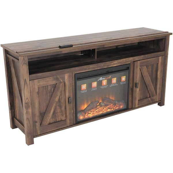 "Farmington 60"" Media Fireplace by AMERIWOOD INDUSTRIES is now available at American Furniture Warehouse. Shop our great selection and save!"