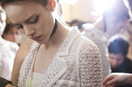 : Chanel Haute Couture Backstage Spring 2011
