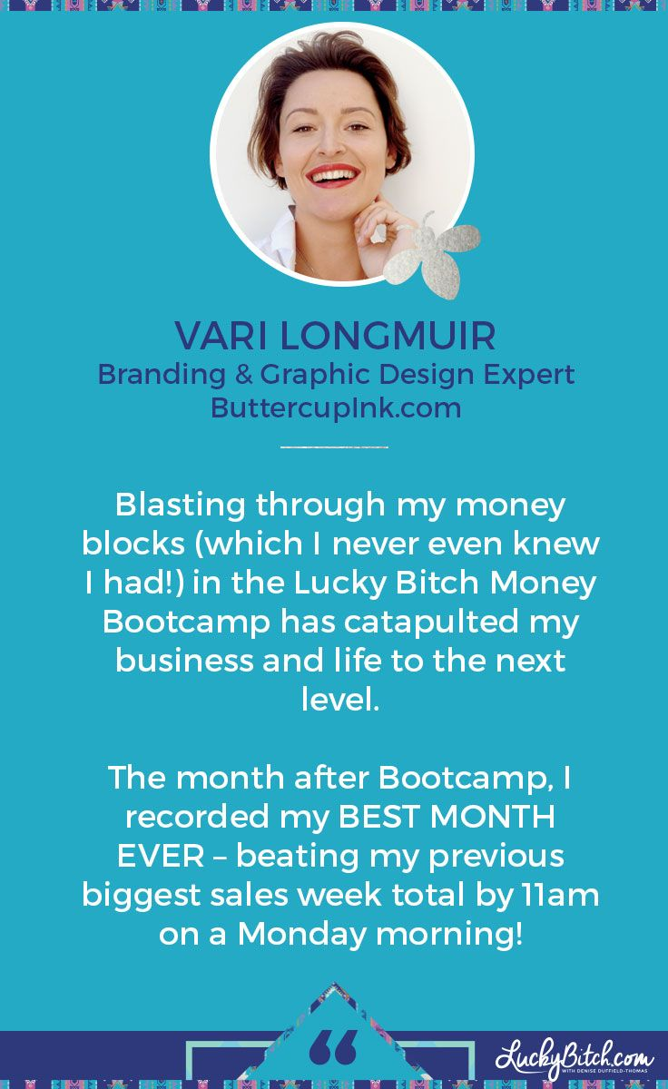 Find out more: http://luckybitch.com/bootcamp/