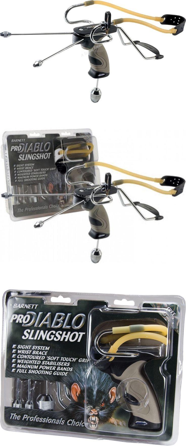 Slingshots 117141: Hunting Catapult Barnett Pro Diablo Ii Slingshot Soft Touch Grp Sling Shot Sight -> BUY IT NOW ONLY: $32.99 on eBay!