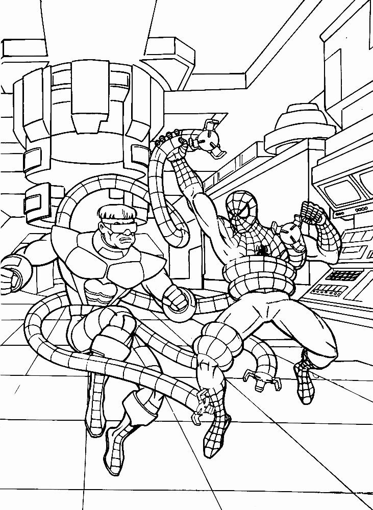 Coloring Books For Boys New Spiderman Coloring Page For Free Print Spiderman Coloring Coloring Pages Giraffe Coloring Pages
