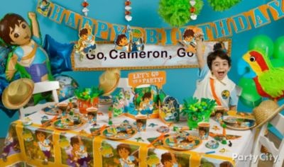 Go, Diego, Go! Party Ideas Guide-Party City