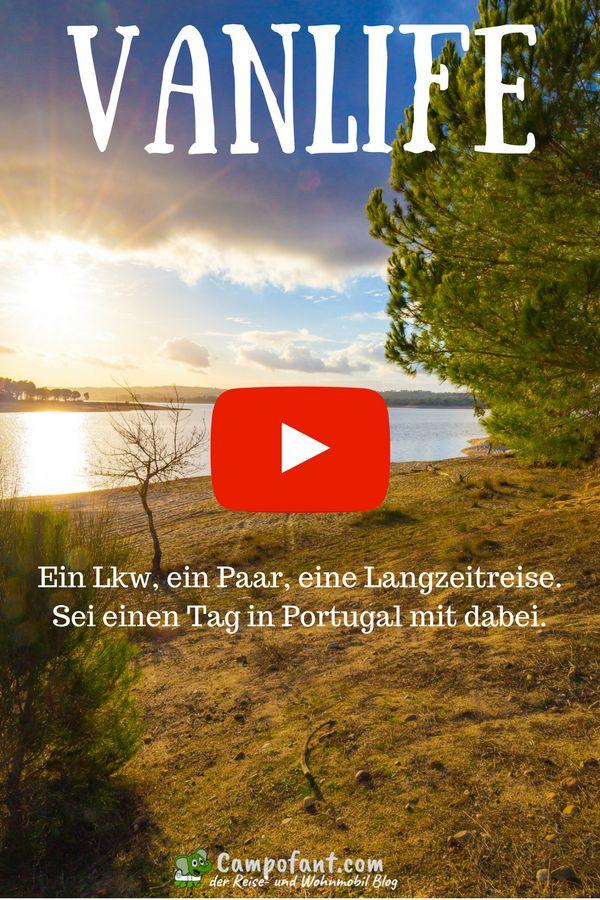 Vanlife - ein Tag aus unserem Leben im Wohnmobil. Begleite uns nach Portugal und lass dich in diesem Video in die Sonne entführen. Wir nehmen dich einen ganzen Tag lang mit in unser Wohnmobil und lassen dich an unserem Leben teilhaben.  #vanlife #wohnmobil #video #langzeitreise #vlog