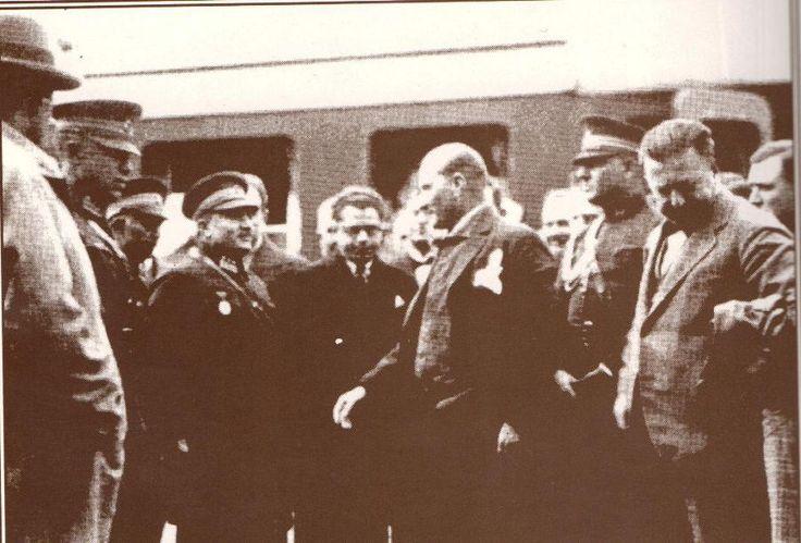 18 kasım 1930 Cumhurbaşkanı Gazi Mustafa Kemal'in Kayseri İstasyonunda karşılanışı. Hasan Yüksel