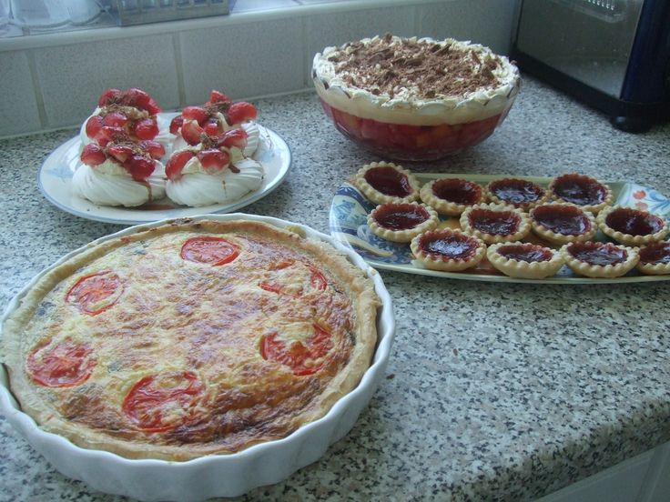 afternoon of baking