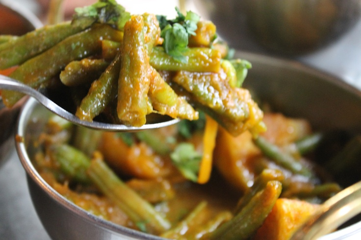 Cocina vegetariana de India, mmmmm!