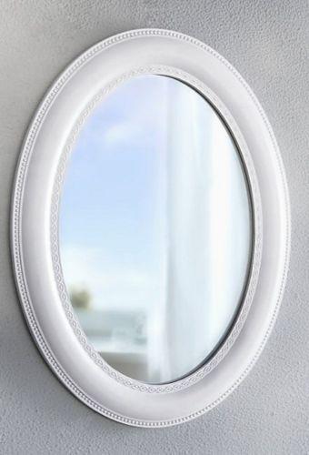 Wandspiegel-Oval-Nostalgie-Shabby-Look-Holzrahmen-Ovaler-Spiegel