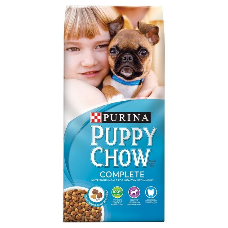 Purina Puppy Chow Complete Puppy Dry Dog Food 16.5lb Bag