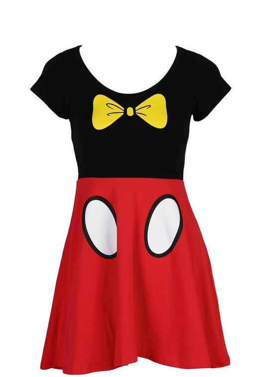 Disney Discovery- Mickey Or Minnie Mouse Skater Dress