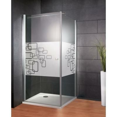 Porte pivotante + paroi latérale 90 x 90 x 185 cm, Softcube anticalcaire - Achat / Vente porte de douche Porte pivotante + paroi lat... - Cdiscount