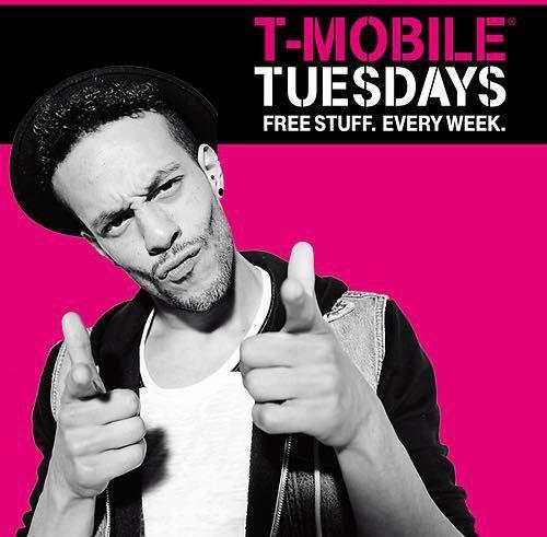 tmobile tuesday Freebies Deal Reminder Details and Info - http://couponsdowork.com/freebies-giveaways/tmobile-freebie-tuesday-stuff/