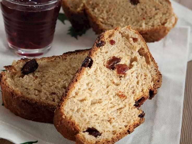 Tarçınlı ve üzümlü tatlı ekmek