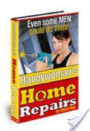 """Handywoman's Home Repairs! In just minutes you can take control and learn: How to clear a blocked showerhead How to use a power drill How to unclog a sprinkler system How to load a staple gun How to replace a light switch How to use a wrench How to fix a toilet leak How to repair a table or chair How to caulk a bathtub How to fix a sticky drawer and so much more You CAN do this. I promise. It's not that difficult, men just want you to """"think"""" it is. What a man can do a woman can do..."""