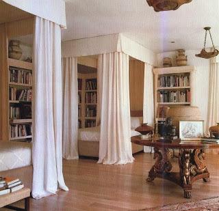 The Blue Remembered Hills™: Kalef Alaton #interiors #bedrooms