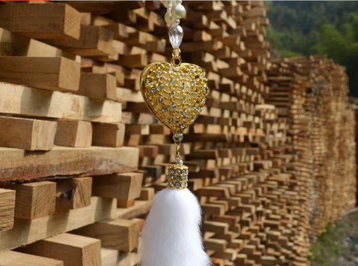 Автомобиль для укладки алмаз сладкий в форме сердца пентаграмма автомобиль броши автомобиль благоприятные благословения кулон
