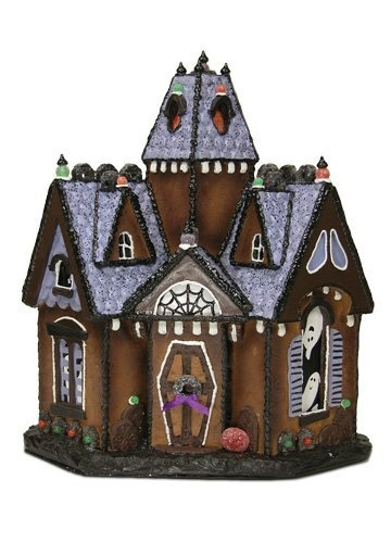 Byers Choice Quot Spooky Retreat Haunted Gingerbread House