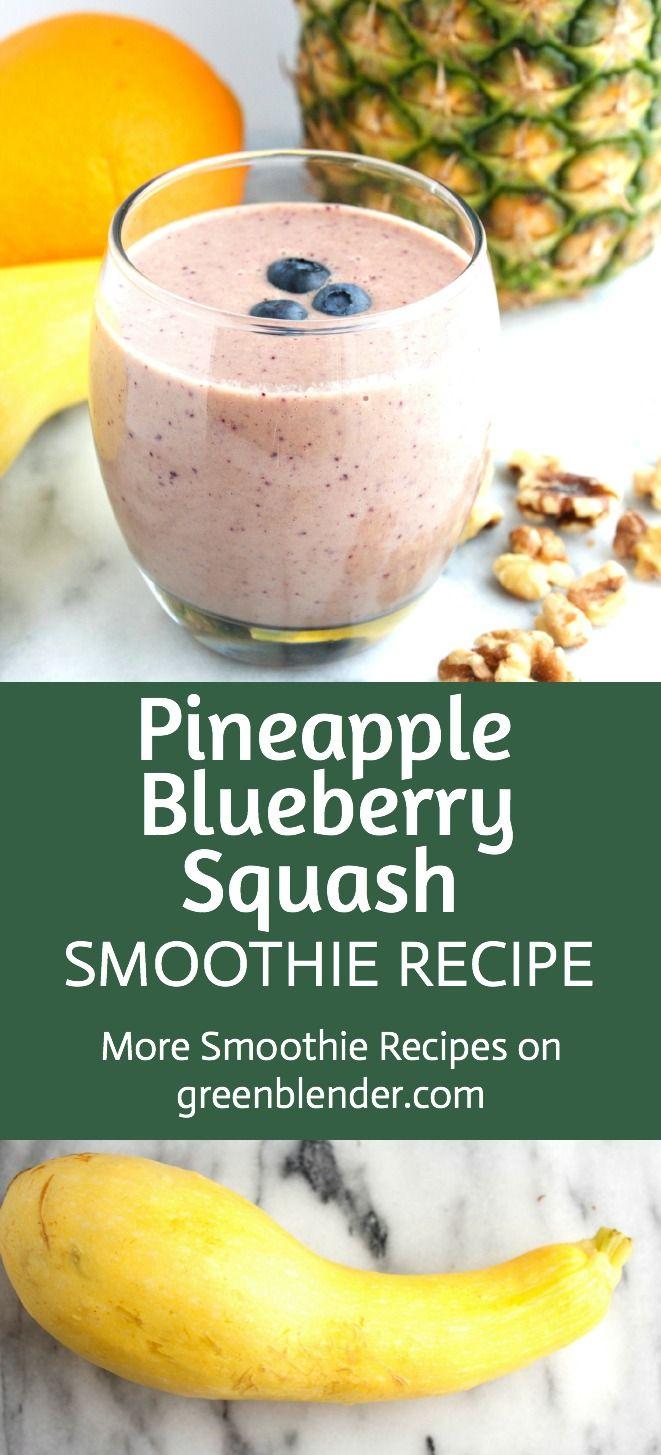 Pineapple Blueberry Squash | Tangier