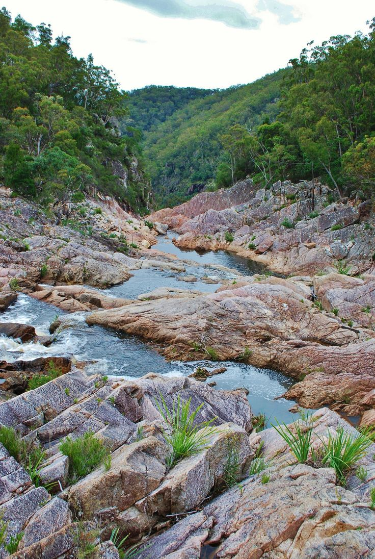 Boonoo Boonoo National Park, Waterfall, NSW.