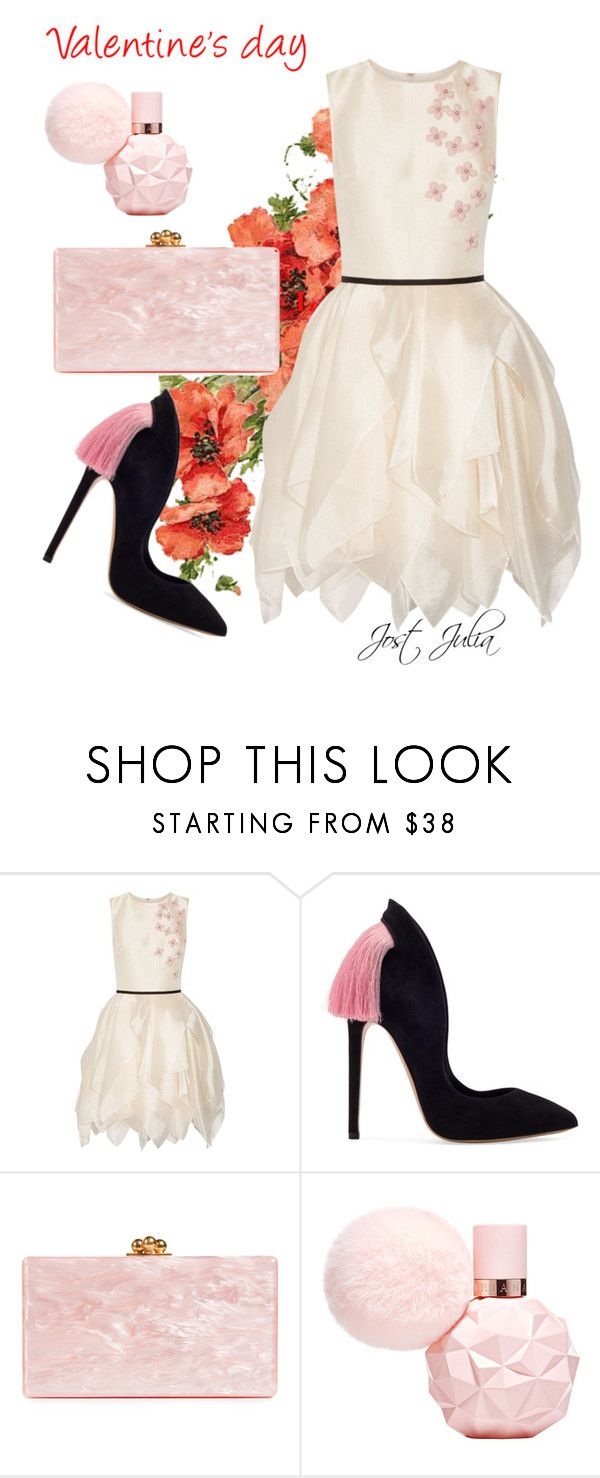 """be my valentine"" by jost-julia on Polyvore featuring Edie Parker"