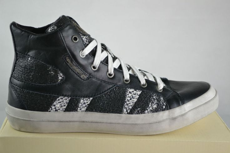 Diesel S KWAARTZZ Herren Sneaker Schuhe Boots Chucks Leder Shoe Gr. 43 UK 9 Neu   eBay