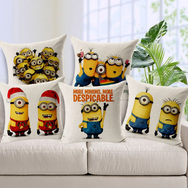 Despicable Me Pillow Cover //Price: $14.95 & FREE Shipping //