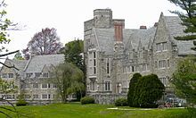 Rhodes Hall.  I lived in this building my 3rd year at Bryn Mawr College.
