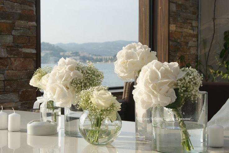 Mariage blanc / Hotel La farandole à Sanary (Var)