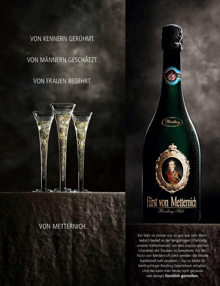Fürst von Metternich #wine #advertisement