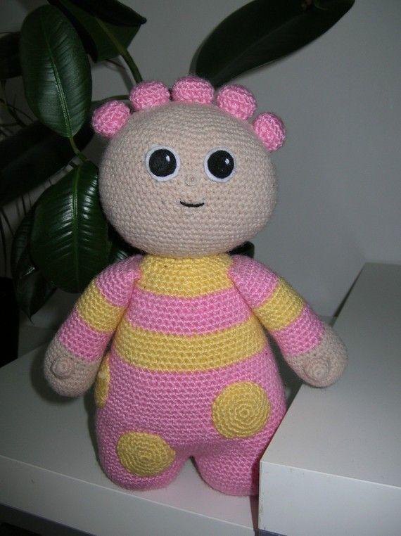 Knitting Pattern For Upsy Daisy : Tombliboo Eee,Makka Pakka,Upsy Daisy and Iggle Piggle - 4 PDF crochet pattern...