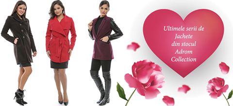 În stocul Adrom Collection au mai rămas doar aceste 3 modele de jachete, perfecte pentru perioada de primăvară!