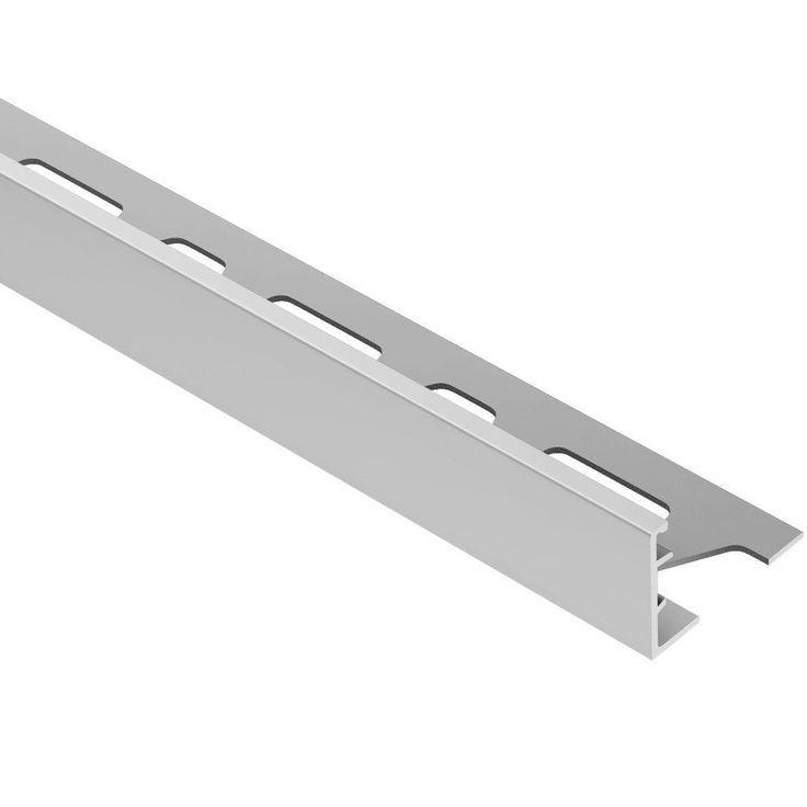 Schluter Schiene Satin Eloxiertes Aluminium 3 4 Zoll X 8 Fuss 2 1 2 Zoll Metall L Winkel Fliesenrandleiste Aluminium El Tile Edge Tile Edge Trim Anodized