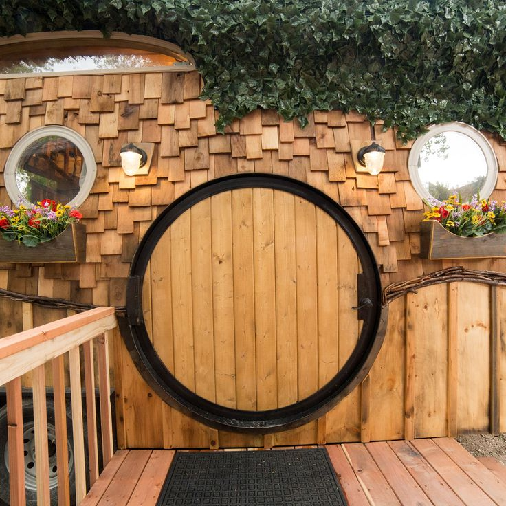how to build a hobbit house to live in