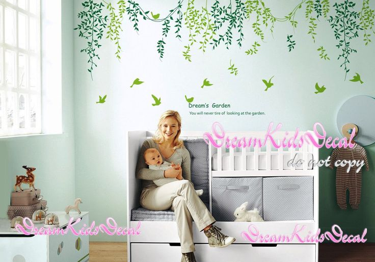 Tree wall decals Nature Wall Sticker Wall Arts Kids Room Decal-Dream Garden-DK140 by DreamKidsDecal on Etsy https://www.etsy.com/listing/121793643/tree-wall-decals-nature-wall-sticker