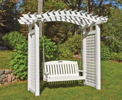 Plantation Arbor from Walpole Woodworkers